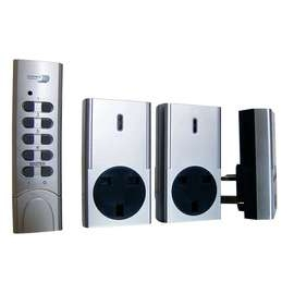 Remote Control Sockets - Pack of 3