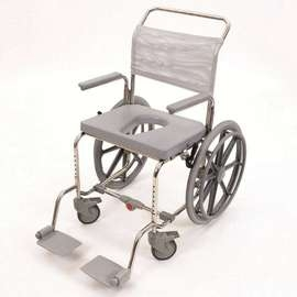 Oyster Shower Commode Chair (Self Propelled)