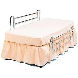 Chrome Bed Rails - Pair