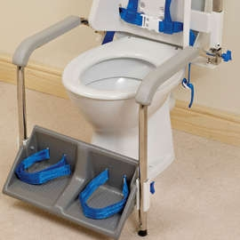 Foot and Armrest Kit for Columbia Toilet Support