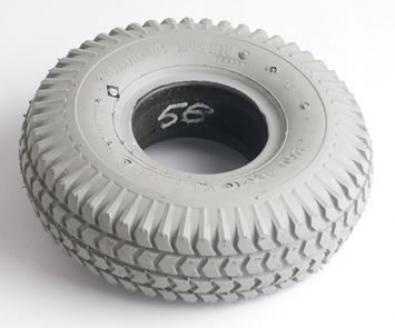 Infilled Block Tyre 200 x 50