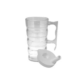 Easy Grip Beaker with Handle and Lid - 300ml
