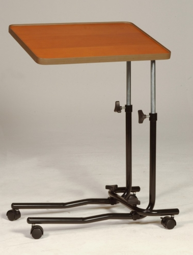Overbed Table 4 Castors