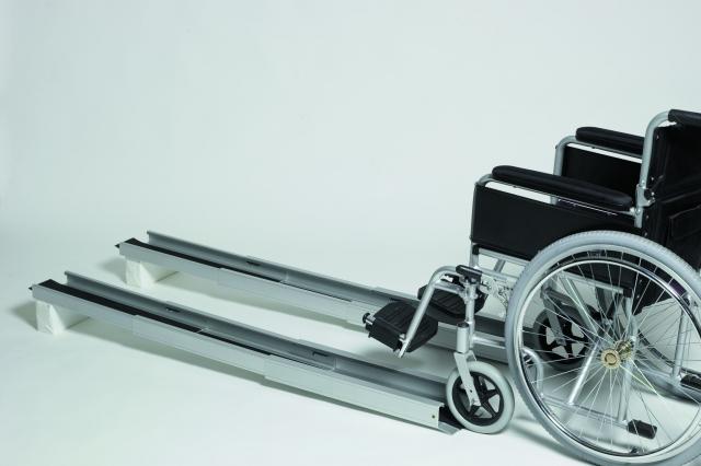 Portable Wheelchair Channel Ramp