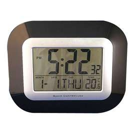 Radio Controlled LCD Digital Calendar Clock
