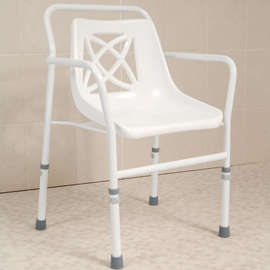 Height Adjustable Economy Shower Chair