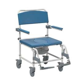 Bariatric Adaptable Shower Commode Chair - Attendant Control