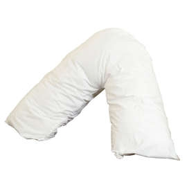 Polycotton V Shaped Pillow Case