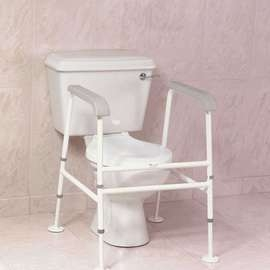 Nuvo Standard Floor Fixed Toilet Frame