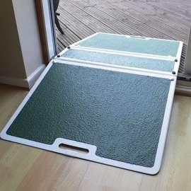 Fibreglass Folding Threshold Ramp