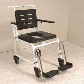 Combi Commode Attendant Controlled Shower Chair