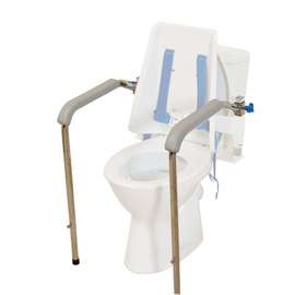 Adjustable Armrest Kit for Columbia Toilet Support