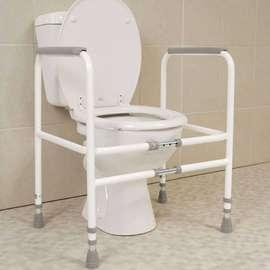 Width Adjustable Economy Toilet Frame