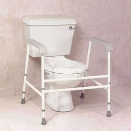 Nuvo Extra Wide Free Standing Toilet Frame