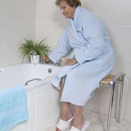 Spa Bathroom Stool