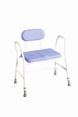 Bariatric Height Adjustable Perching Kitchen Stool
