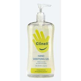Clinell® Hand Sanitising Gel - 500ml Pump