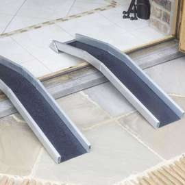 Lightweight Threshold Channel Ramps - Pair