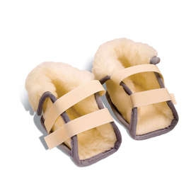 Fleece Heel Protectors - Pair
