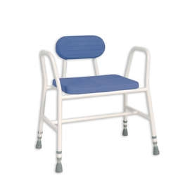 Extra Wide PU Moulded Shower Stool