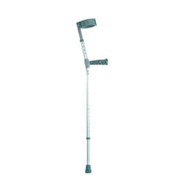Double Adjustable Crutches With PVC Handle - Pair