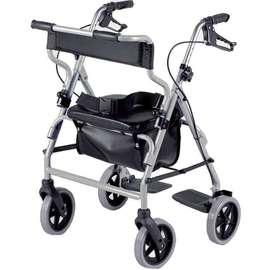 2 In 1 Rollator & Transit Chair