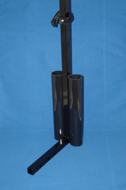 Deluxe Double Walking Stick / Crutch Holder