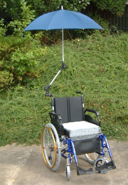 Wheelchair/Rollator Umbrella