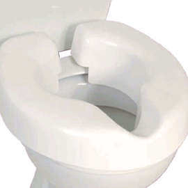 Novelle Clip-on Raised Toilet Seat