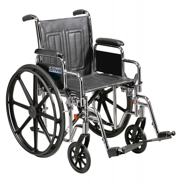Heavy Duty Wheelchair Sentra EC