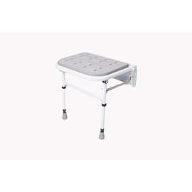 Folding Shower Seat (with Legs & Padded Seat)