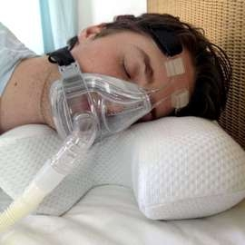 Sleep Apnoea Mask Pillow