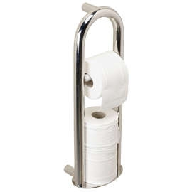 Spa Toilet Roll Holder / Integrated Grab Rail