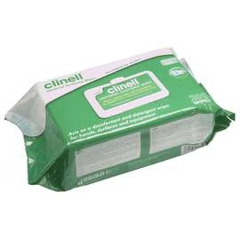 Clinell® Antibacterial Wipes - Pack of 200