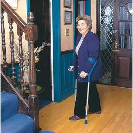 Comfort and Style Crutches - Pair