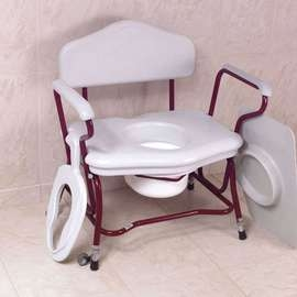 Disposable Pan Holder for Zenith Bariatric Commode
