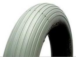410/350 x 6 C/S Grey Rib Tyre