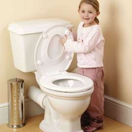 2-In-1 Family Toilet Seat