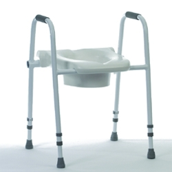 Merlin Raised Toilet Seat and Frame
