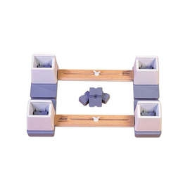 Adjustable Bed Raisers - Pair