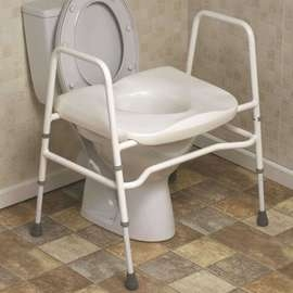 Mowbray Toilet Seat & Frame - Extra Wide