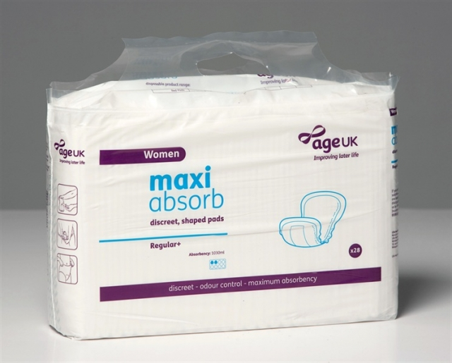 Maxi Absorb Discreet Shaped Pads