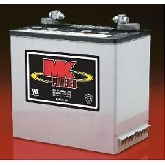 1 Pair MK SLA 12 Volt 97Amp/Hour GEL Batteries