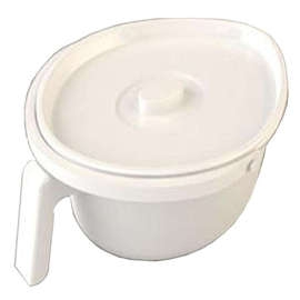 Spare Standard Oval Pan for Zenith Bariatric Commode