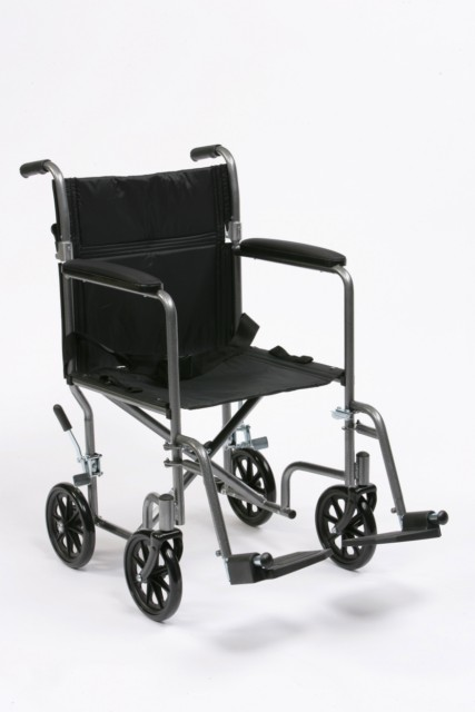 Steel Travel Wheelchair