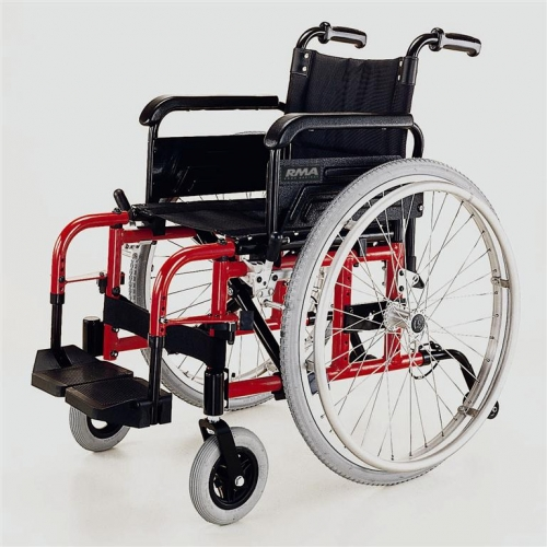 Lightweight Self Propel Wheelchair in Red