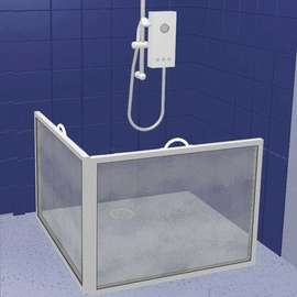 Portable Shower Screen - CS3