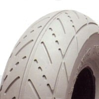 Solid Scallop Tyre 260 x 85 (300 x 4) (10 x 3)