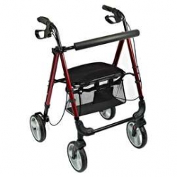 Lightweight Four Wheeled Rollator