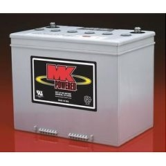 1 Pair MK SLA 12 Volt 70Amp/Hour GEL Batteries